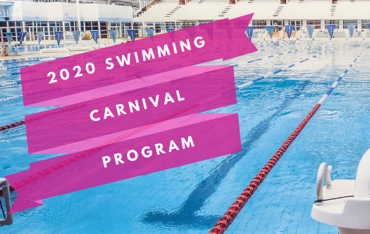 2020 Swimming Carnival Program