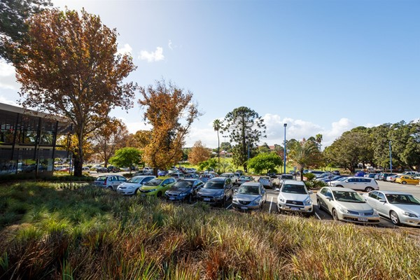 Beatty Park Facilities - Car park