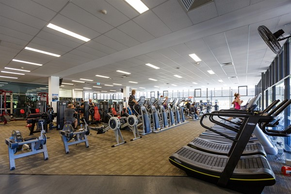 Beatty Park Facilities - Gym cardio area