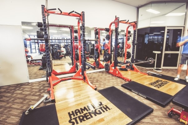 Beatty Park Facilities - Power Racks in the gym