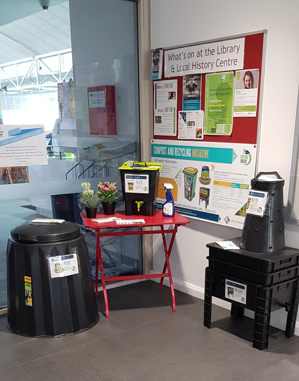 Composting Display