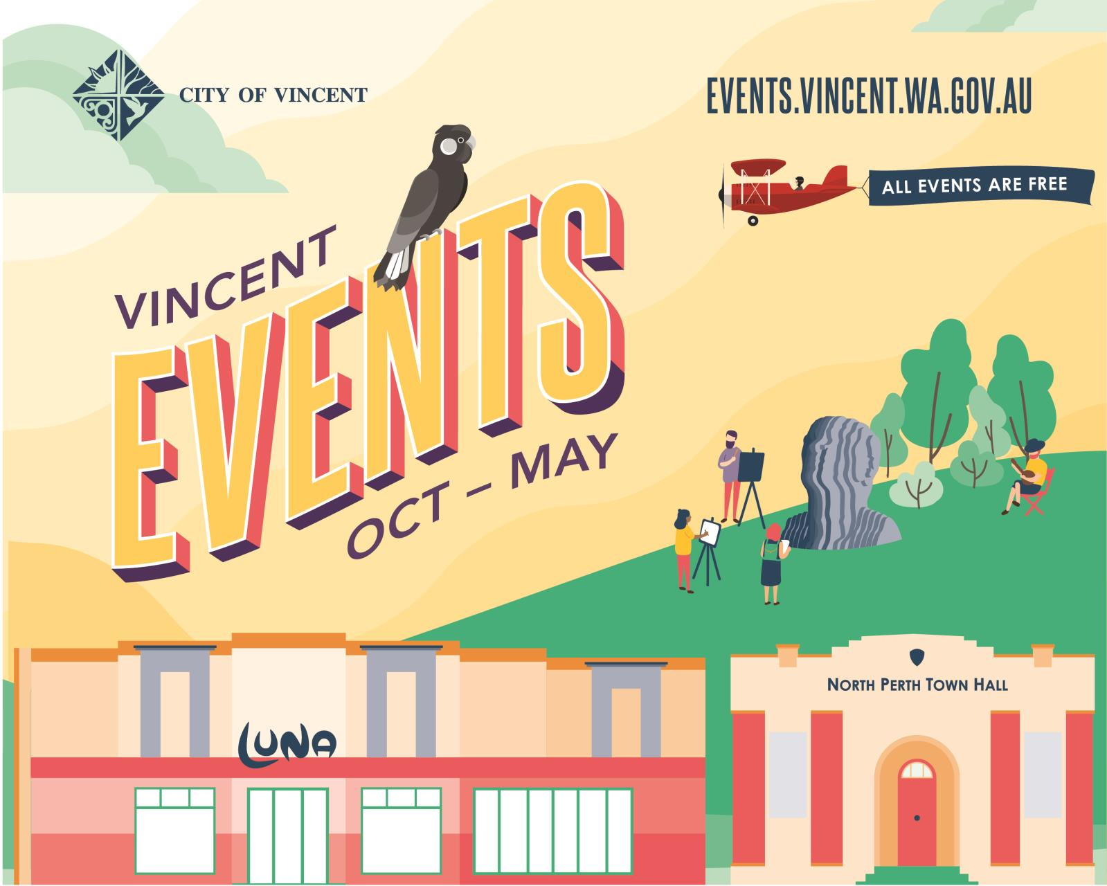 Vincent Events