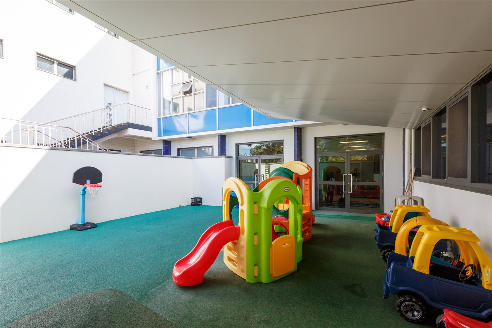 Creche outdoor play area